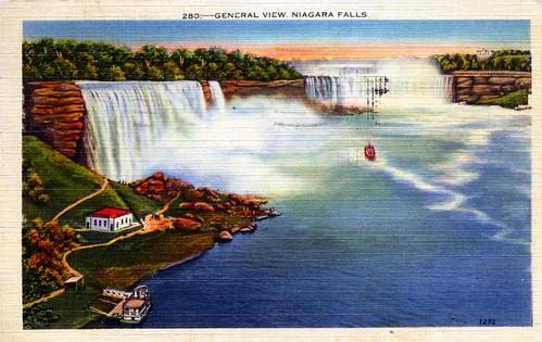 General View Niagara Falls NY