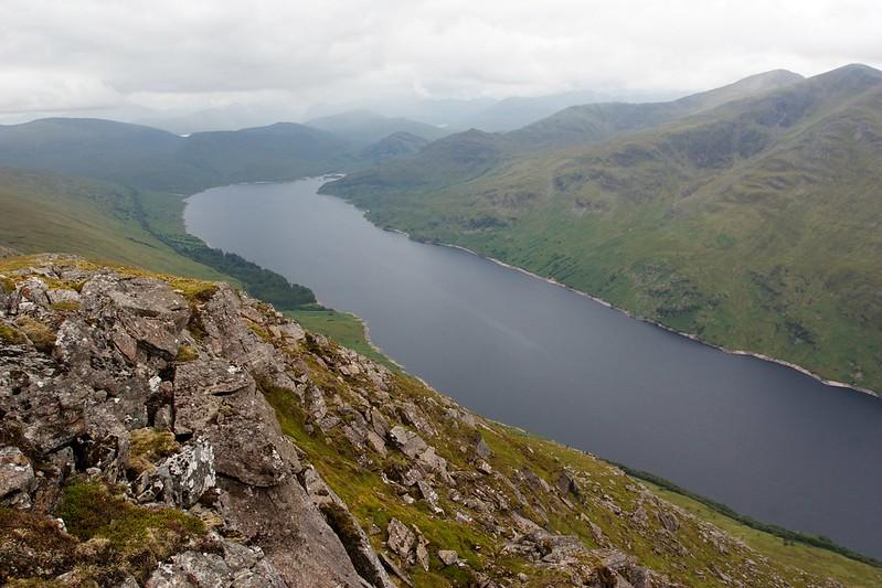 Loch Treig from Stob Coire Sgriodain