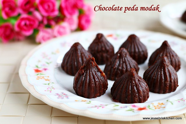 chocolate peda- modak