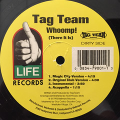 TAG TEAM:WHOOMP!(THERE IT IS)(LABEL SIDE-A)