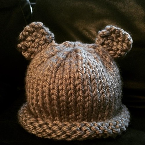 Little bear hat. 👶