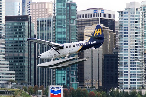 C-FHAD DHC-3 Turbine Otter Harbour air Vancouver 06-09-15