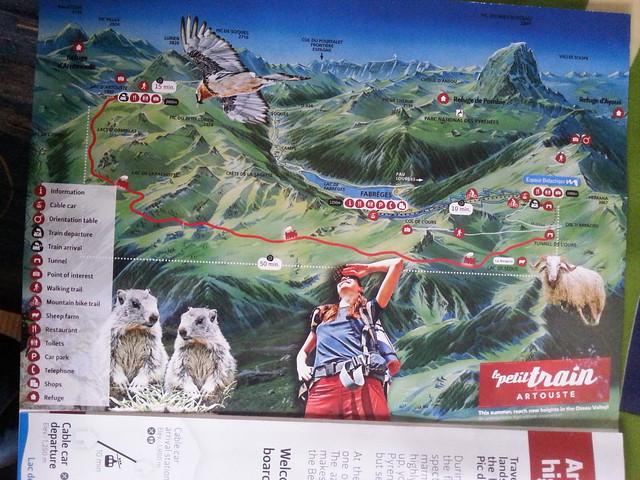 Vacaciones 2015. 1 al 3 de Agosto – Fabrégues – Val D'Azun – Migouélou