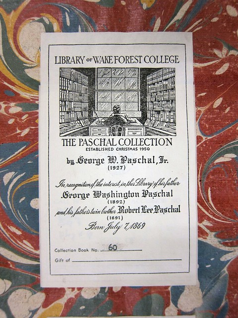 diderot paschal bookplate