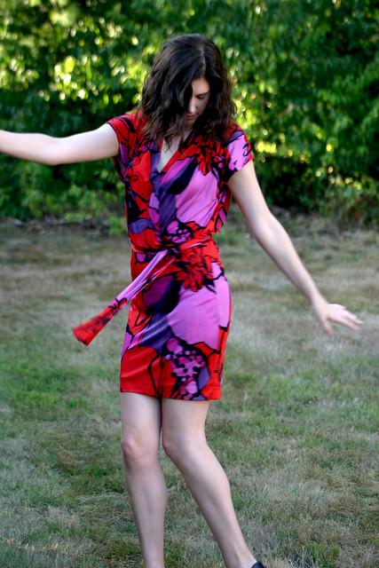 silk tieback dress 5