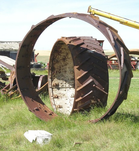 canada junk rust decay wheels ruin rusty crusty