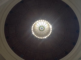Green Point Savings Bank: Ceiling