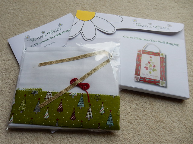 Daisy and Grace Christmas sewing kit