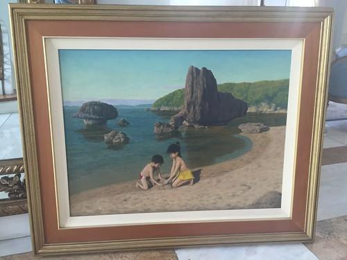 Amado Hidalgo painting is back