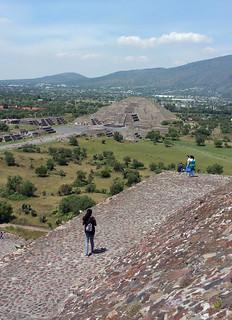 ภาพของ Pirámide del Sol. city mexico df quetzalcoatl pirámides piramid teotihucán
