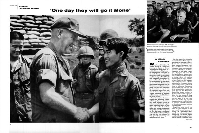 LIFE Magazine April 25, 1969 (1) - GENERAL CREIGHTON ABRAMS