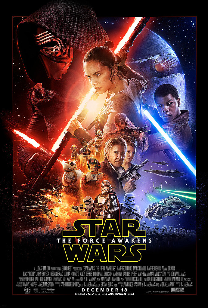 Star Wars - The Force Awakens - Official Poster