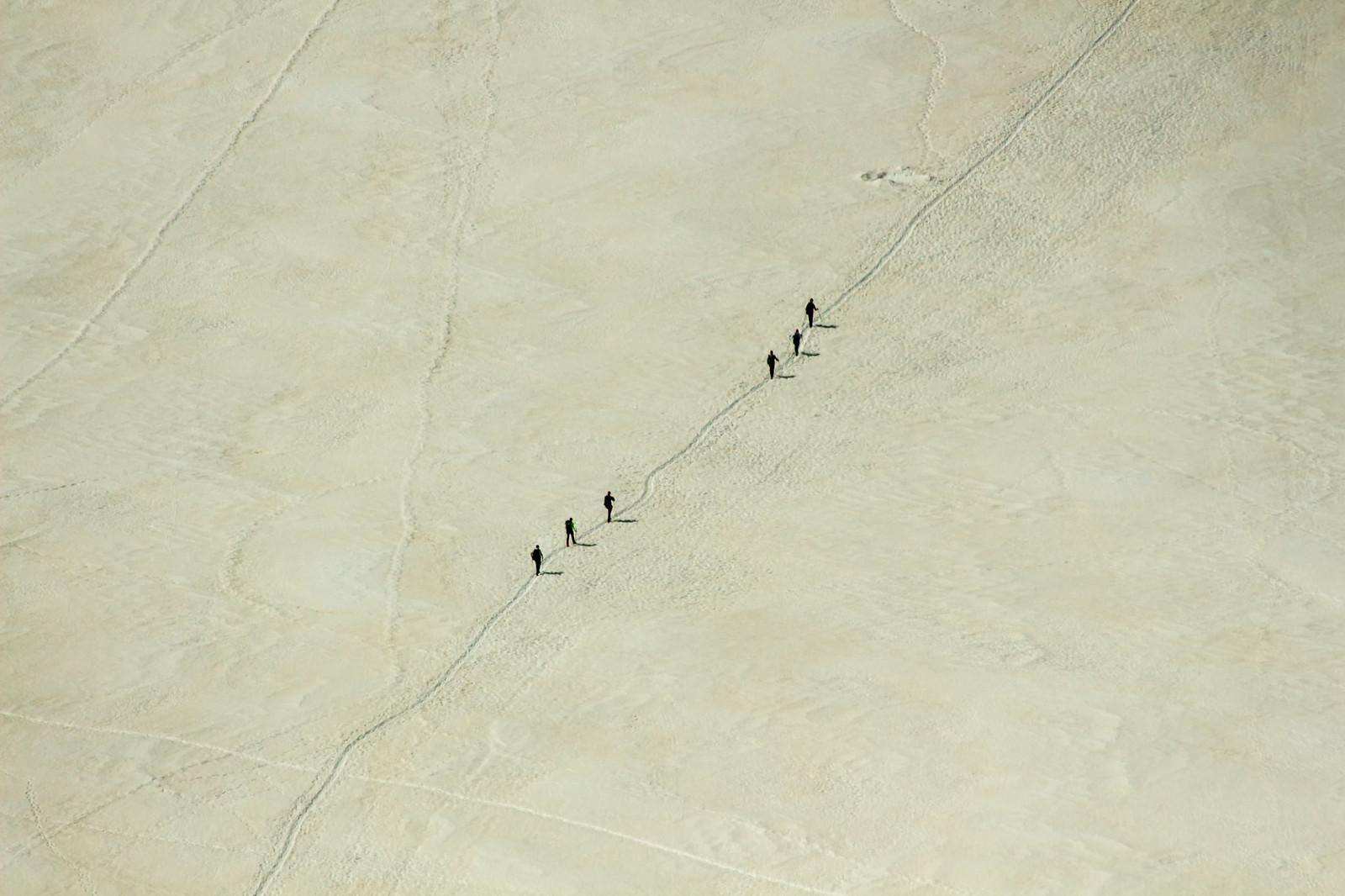 Шамони Мон-Блан - Вот они, муравьишки, идут на вершину