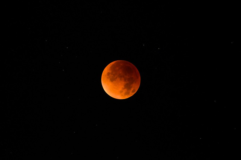 Blood moon - Bern
