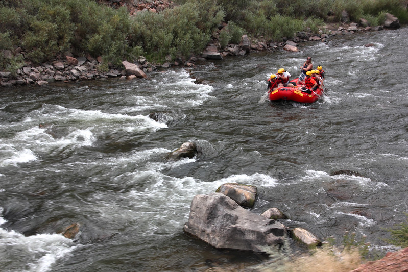 Rafting down Royal Gorge