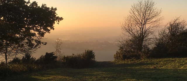 Coombe Hill Sunset