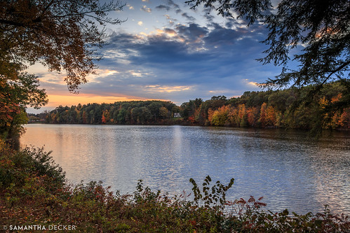 autumn sunset ny newyork fall upstate saratogasprings foliage canonef24105mmf4lisusm canoneos6d samanthadecker loughberrylake
