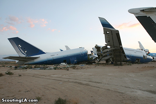 Where Planes Go To Die: A One Way Trip To The Mojave Boneyard