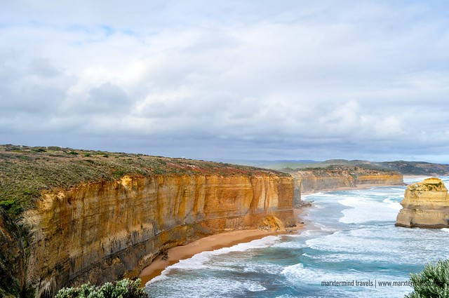 Rock Formations and Cliff Great Ocean Road Australia
