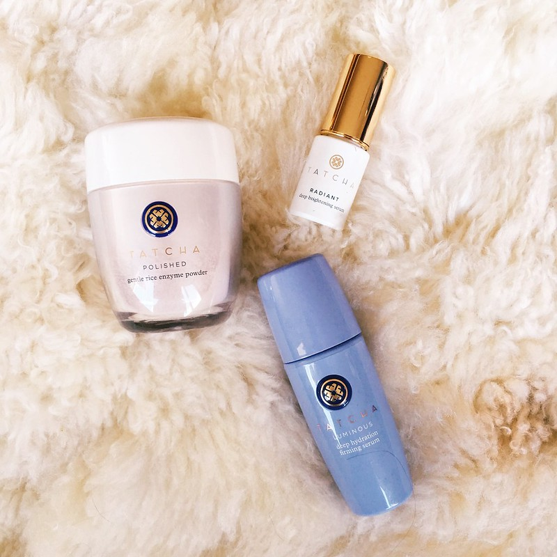 cute & little blog | tatcha skincare review