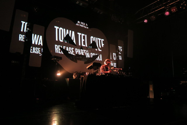 Towa Tei CUTE Release Party in Osaka, Japan