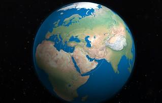 Baghdad on the globe 2