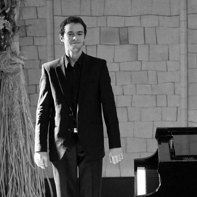 """ENRIQUE LAPAZ, PIANO - AUDITORIO """"ÁNGEL BARJA"""" DEL CONSERVATORIO DE LEÓN - 15.12.15"""