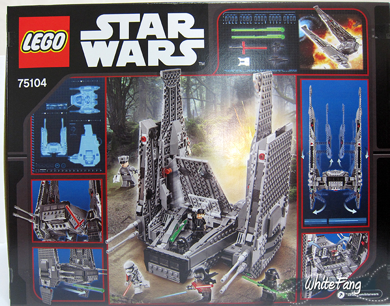 Review 75104 Kylo Rens Command Shuttle Lego Star Wars