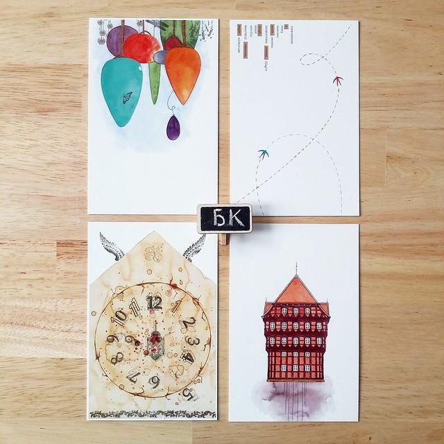 My postcards (endless book)