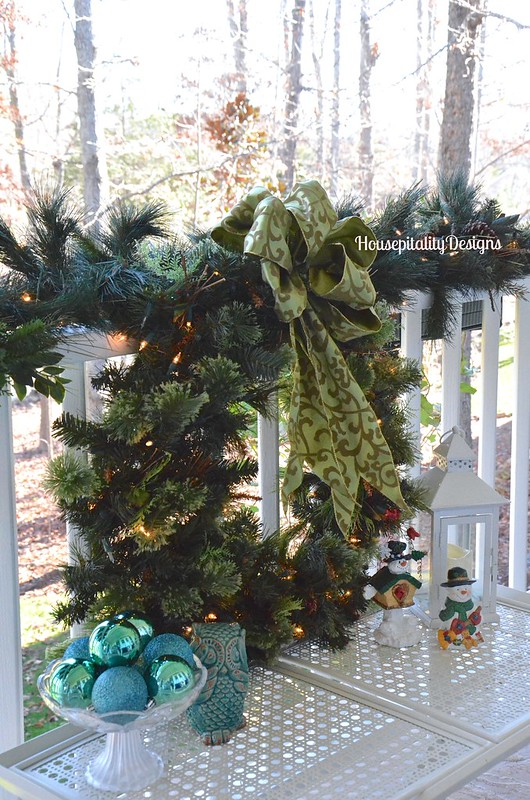 Back Upper Porch/Christmas 2015 - Housepitality Designs
