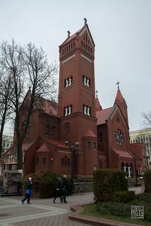 Imageof Church of Saints Simon and Helen. belarus minsk белороссия