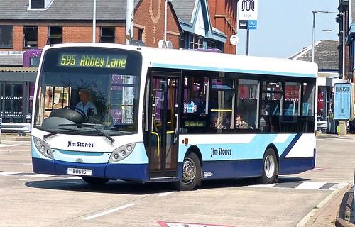 BUS 15 'Jim Stones Coaches' ADL Enviro 200 on Dennis Basford's 'railsroadsrunways.blogspot.co.uk'