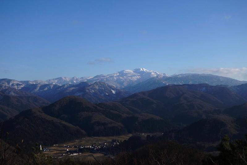 小松火燈山からの白山 命がけの初詣^^;w