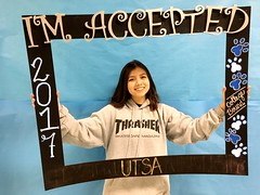 Congratulations to Destiny Olivares who got accepted to the University of Texas at San Antonio in San Antonio, Texas! #CollegeBound #CollegeBoundBulldogs #Somerset2017