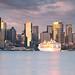 Sydney City Panorama at Sunrise