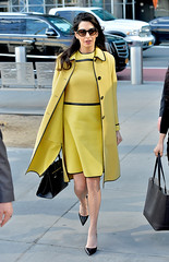 Amal Clooney Stuns in Yellow While Delivering Passionate Speech at the United Nations