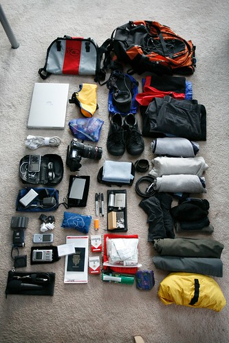 Backpacking checklist things to carry
