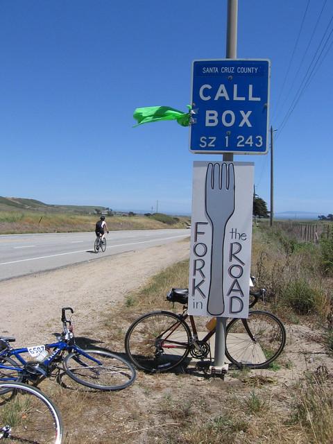 Day 1, 79.3 miles, San Francisco to Santa Cruz