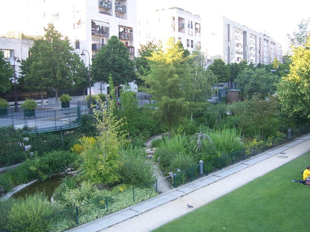 Jardin de Reuilly.