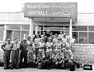 Military arrival in Amman