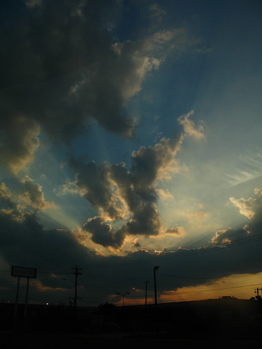 sunset summer vacation clouds canon texas roadtrip 2006 bestofottoman42 a620
