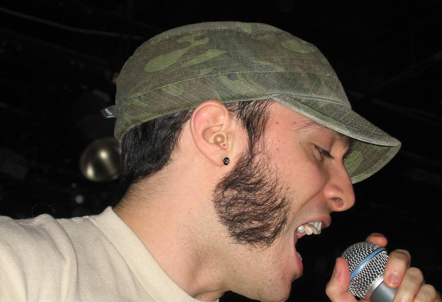 Mike has cool sideburnsCool Sideburns