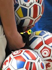 hockey protective equipment(0.0), football player(0.0), football helmet(0.0), protective equipment in gridiron football(0.0), goaltender mask(0.0), athlete(0.0), ball(1.0), football--equipment and supplies(1.0), ball(1.0), football(1.0),