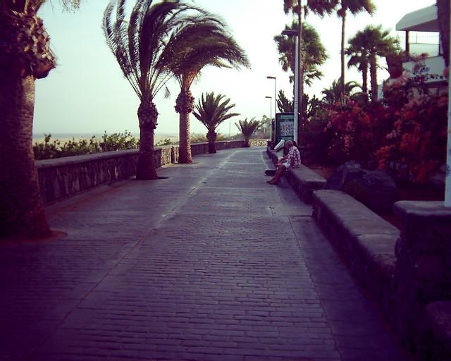 Playa Del Ingles Strandpromenade See Where This Picture Wa Flickr