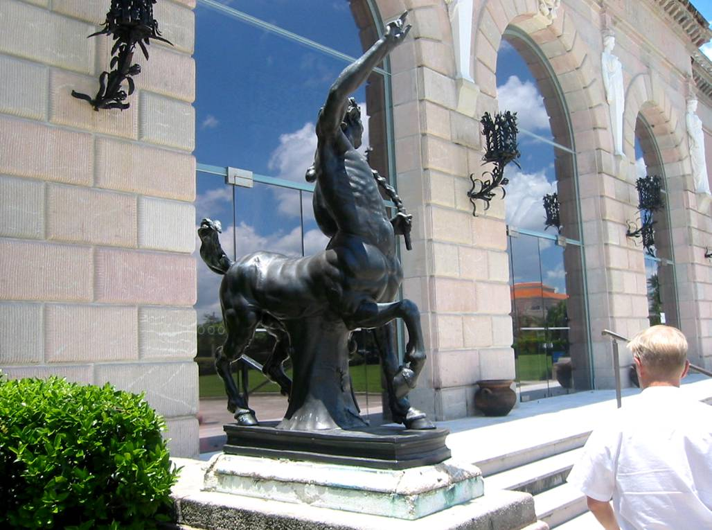 Centaur at the Ringling Estate, Sarasota, Florida