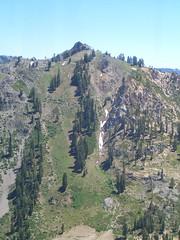 canyon(0.0), trail(0.0), walking(0.0), valley(0.0), ravine(0.0), mountain pass(0.0), badlands(0.0), cliff(0.0), park(0.0), mountain(1.0), geology(1.0), ridge(1.0), plateau(1.0), terrain(1.0), wadi(1.0), escarpment(1.0), mountainous landforms(1.0),