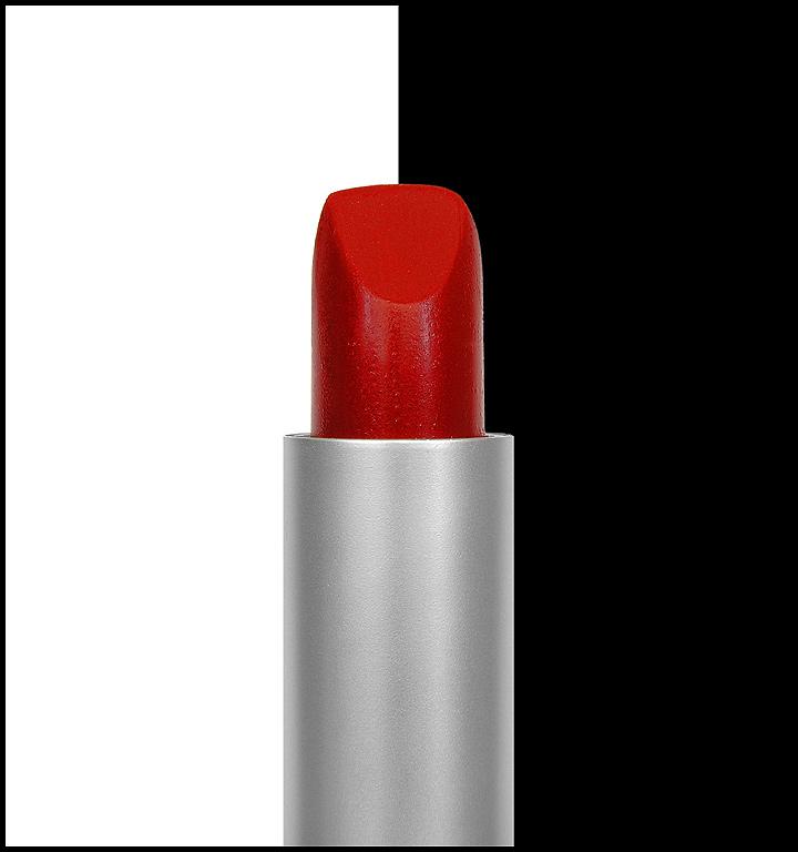 Black&White & Red Lipstick #1