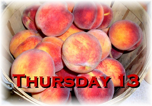 Thursday Thirteen Peaches