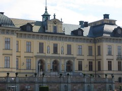 Drottingsholm Palace from the rear
