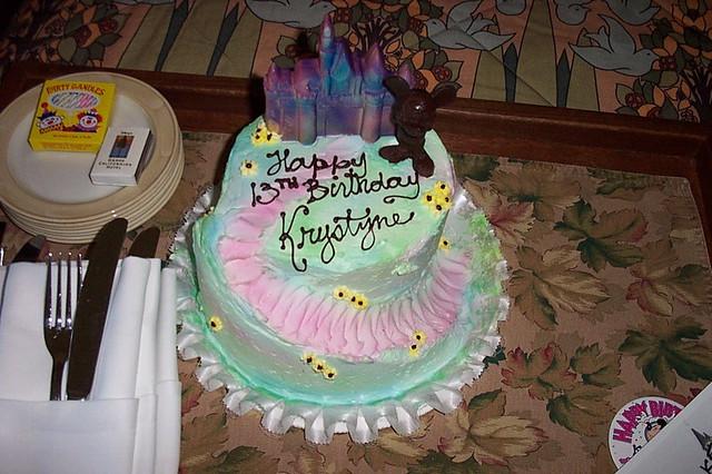Disneyland cake Flickr - Photo Sharing!